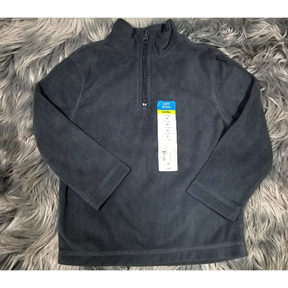 okie dokie Other - Size 2T 3T 5T Boys Fleece Quarter Zip Pullover
